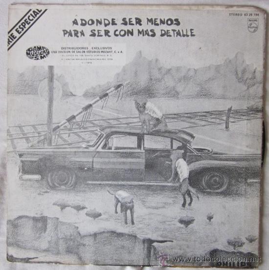 Discos de vinilo: PATXI ANDIÓN - VIAJE DE IDA - EDITADO EN LA REPÚBLICA DOMINICANA - 1976 - Foto 2 - 26829608
