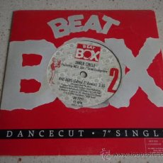 Discos de vinilo: INNER CIRCLE ( BAD BOYS ) ALBUM VERSION + EDITED 7' REMIX 1990-SWEDEN SINGLE45 BEAT BOX. Lote 25467557