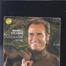 Discos de vinilo: MANOLO ESCOBAR EL COLOR DE LA SANGRE. Lote 25474261