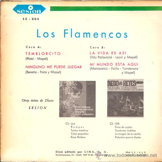 Discos de vinilo: CONTRAPORTADA - Foto 2 - 25480202