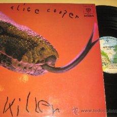 Discos de vinilo - ALICE COOPER - KILLER - ORIGINAL ESPAÑOL 1972 - 25485308
