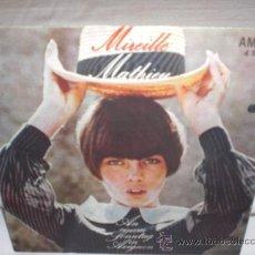Discos de vinilo: MIREILLE MATHIEU-AU REVOIR MON AMOUR-SINGLE -ANTIGUA R.D.ALEMANA. Lote 25511737