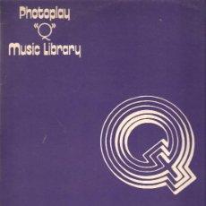 Discos de vinilo: 2 LP´S PHOTOPLAY Q MUSIC LIBRARY & MELODIC ORCHESTRAL: PHILIP GREEN + LESLIE STEVENS + P. NELLA. Lote 25520212