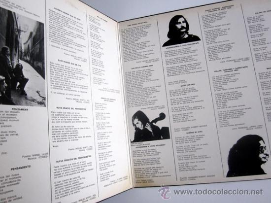 Discos de vinilo: COSES – VIA FORA! – LP SPAIN 1976 – MOVIEPLAY S-32825 - Foto 2 - 25526094