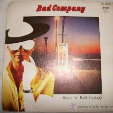 Discos de vinilo: BAD COMPANY - ROCK ´N ´ROLL FANTASY / 45 RPM / 1979 SWAN SONG 45-1835 . Lote 26915669