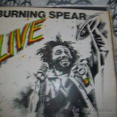 Discos de vinilo: BURNING SPEAR LP LIVE. Lote 27083955