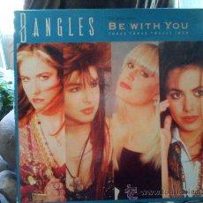 Discos de vinilo: BANGLES / BE WITH YOU / -------MAXI SINGLE ------ 1988 ----- ED. ESPAÑOLA --- . Lote 25532455