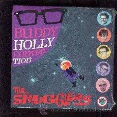 Discos de vinilo: THE SMUGGLERS 45 RPM BUDDY HOLLY CONVENTION NUEVO, PRECINTADO. Lote 27189435