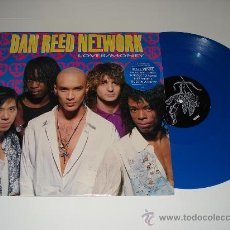 Discos de vinilo: DAN REED NETWORK / LOVER - MONEY (PINK FLOYD) + 2 LIVE - EP 4 TEMAS ENGLAND 1990 VINILO AZUL!!!. Lote 27134022