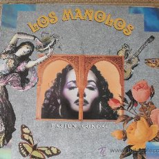Discos de vinilo: LOS MANOLOS PASION CONDAL, (LP). Lote 27043604