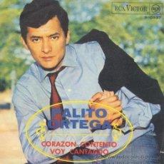 Discos de vinilo: PALITO ORTEGA - CORAZÓN CONTENTO - 1968 - (EXCELENTE ESTADO). Lote 25586410
