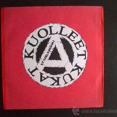 Discos de vinilo: KUOLLEET KUKAT - KYYNEL KAASUA - SINGLE VINILO. Lote 27106987