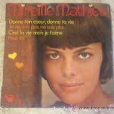 Discos de vinilo: EP-MIREILLE MATHIEU-. Lote 27265661