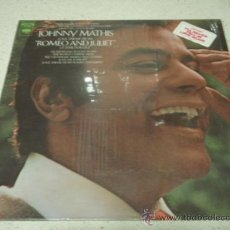 Discos de vinilo: JOHNNY MATHIS LOVE THEME FROM 'OMEO AND JULIET ' NEW YORK-USA LP33 COLUMBIA. Lote 25643858