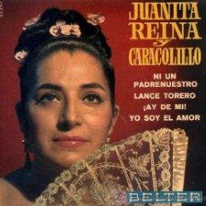 Discos de vinilo: JUANITA REINA Y CARACOLILLO - 1968. Lote 25661877