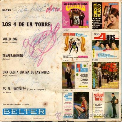 Discos de vinilo: Contraportada (Back sleeve) - Foto 2 - 25674176
