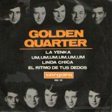"""Discos de vinilo: GOLDEN QUARTER - EP-SINGLE VINILO 7"""" - EDITADO ESPAÑA - UM. UM, UM, UM + LA YENKA + 2 - VERGARA 1965. Lote 39363342"""