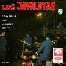 "Discos de vinilo: LOS JAVALOYAS - EP-SINGLE VINILO 7"" - EDITADO EN ESPAÑA - RAG DOLL + 3 - 1965. Lote 27278511"