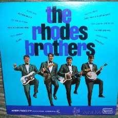 Discos de vinilo: THE RHODES BROTHERS-THE RHODES BROTHERS LP- DEBUT ALBUM -ORIGINAL U.S.A. - UNITED ARTISTS 1965 MONO. Lote 27285429