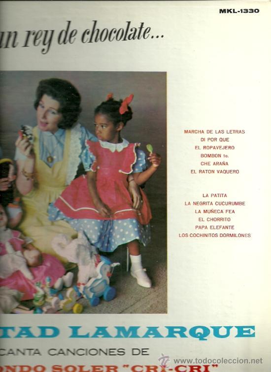 LIBERTAD LAMARQUE CANTA CANCIONES DE CRI-CRI LP SELLO RCA EDITADO EN PUERTO RICO. (Música - Discos - LP Vinilo - Grupos y Solistas de latinoamérica)