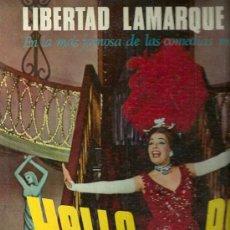 Discos de vinilo: LIBERTAD LAMARQUE, HELLO, DOLLY LP SELLO RCA VICTOR EDITADO EN ARGENTINA.. Lote 25734946