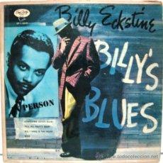 Discos de vinilo: BILLY ECKSTINE - BILLY'S BLUES - EP EMARCY 1954 BPY. Lote 28627345