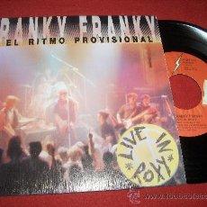 """Discos de vinilo: FRANKY FRANKY Y EL RITMO PROVISIONAL 7"""" EP 1990 . Lote 27246392"""