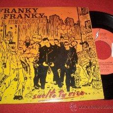 """Discos de vinilo: FRANKY FRANKY Y EL RITMO PROVISIONAL 7"""" SINGLE 1989 LA FABRICA MAGNETICA PROMO . Lote 27246394"""