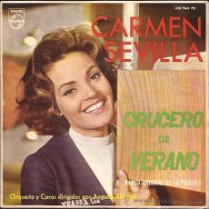 Discos de vinilo: EP-CARMEN SEVILLA-PHILIPS.430964-ED.ESPAÑOLA-1964. Lote 25774212