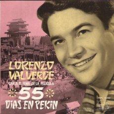 Discos de vinilo: EP-LORENZO VALVERDE-VSA.13946-1963.. Lote 25774790
