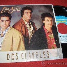 "Discos de vinilo: LOS CALIS DOS CLAVELES/MARIONETA 7"" SINGLE 1990 FONOMUSIC . Lote 25774874"