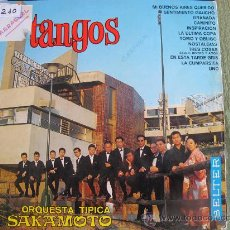 Discos de vinilo: LP - ORQUESTA TIPICA SAKAMOTO - TANGOS - ORIGINAL ESPAÑOL, BELTER 1967. Lote 25775632