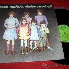 Discos de vinilo: PACO MUÑOZ VINDRA UN VAIXELL LP 1978 MOVIEPLAY FOLK CANCION VALENCIA. Lote 25795779