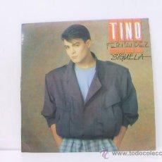 Discos de vinilo: TINO FERNANDEZ ( PARCHIS ) - SIGUELA - PROMO - RCA 1985. Lote 163701464