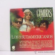Discos de vinilo: LOS TRES SUDAMERICANOS - CUMBIAS - IMPACTO 1977. Lote 137909229