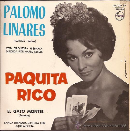 EP-PAQUITA RICO-PHILIPS-360039-1965. (Música - Discos de Vinilo - EPs - Solistas Españoles de los 50 y 60)
