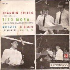 Discos de vinilo: EP-TITO MORA-RCA 622-1962. Lote 25795537