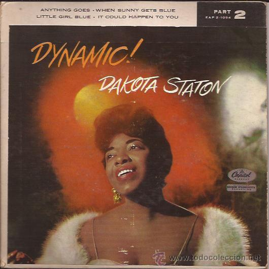EP-DAKOTA STATON-CAPITOL 2-1054-USA (Música - Discos de Vinilo - EPs - Jazz, Jazz-Rock, Blues y R&B)