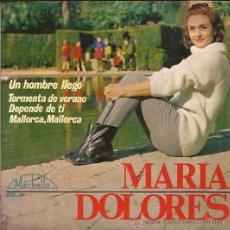 Discos de vinilo: EP-MARIA DOLORES-VERGARA 2021-ED.ESPAÑOLA-1965. Lote 25818161