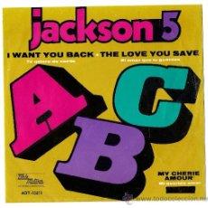 Discos de vinilo: MICHAEL JACKSON & JACKSON 5-ABC- SINGLE MEXICO EP-PORTADA UNICA!!!!!!!!!-AÑOS 70. Lote 25828873