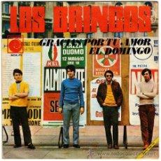 Discos de vinilo: LOS BRINCOS – GRACIAS POR TU AMOR / EL DOMINGO – SG SPAIN 1968 – NOVOLA NOX-79. Lote 25846628