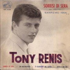 Discos de vinilo: EP-TONY RENIS-VSA.14024-ED.ESPAÑOLA. Lote 25889593
