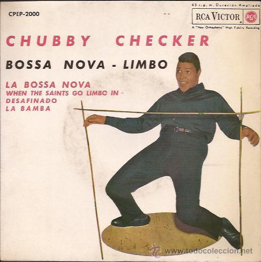 EP-CHUBBY CHECKER-RCACPEP 2000-ED.ESPAÑOLA-1963 (Música - Discos de Vinilo - EPs - Rock & Roll)