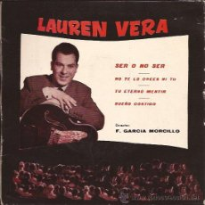Discos de vinilo: EP-LAUREN VERA-RCA LV-1-PROMOCIONAL-1961-EX-EX. Lote 25899526