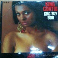 Discos de vinilo: LP KING CURTIS - KING SIZE SOUL EDITADO EN ESPAÑA 1968. Lote 25906132