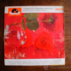 Discos de vinilo: UNSTERBLICHE OPERETTEN-MELODIEN. Lote 27516023
