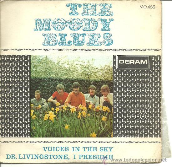 THE MOODY BLUES - VOICES IN THE SKY SINGLE AÑO 1968 (Música - Discos - Singles Vinilo - Pop - Rock Extranjero de los 50 y 60)