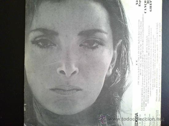 Discos de vinilo: NURIA ESPERT - CANÇONS DEL GUETTO - LP ORIGINAL EDIGSA - Foto 2 - 27555357
