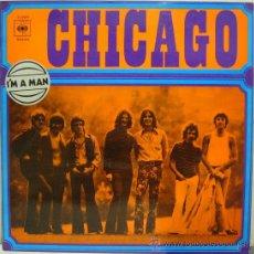 Discos de vinilo - CHICAGO - CHICAGO TRANSIT AUTHORITY · I'M A MAN (LP CBS 1970 ESPAÑA) PORTADA ÚNICA - 25999401