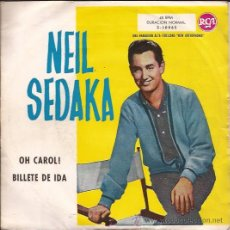 Discos de vinilo: SINGLE-NEIL SEDAKA-RCA3-10065-ED.ESPAÑOLA-1959. Lote 26014230
